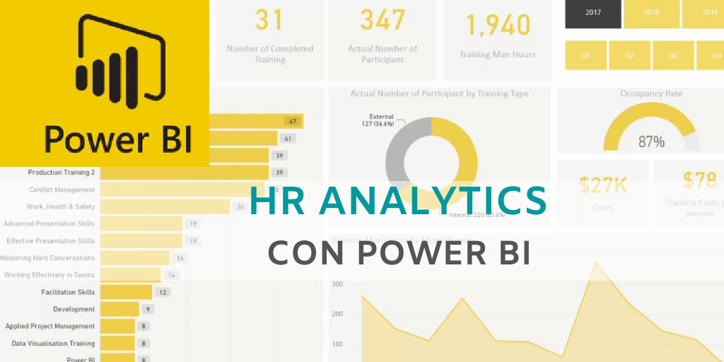 HR ANALYTICS CON POWER BI